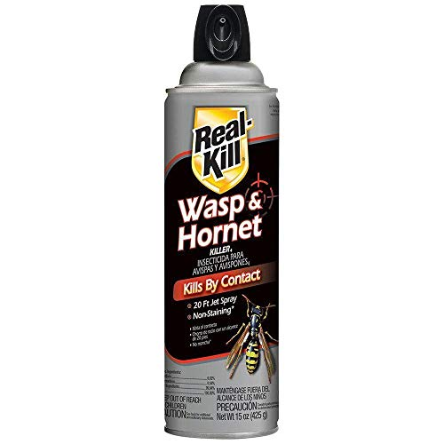 Real Kill Wasp Hornet Yellowjackets Bee Spray | Flying Stinging...
