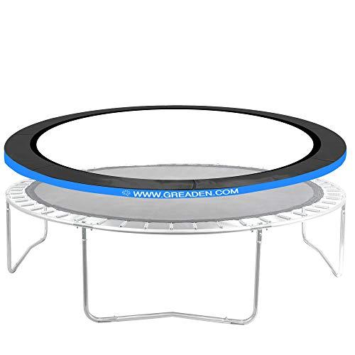 Greaden beschermingskussen voor trampoline Freestyle Ø 366 cm, hoogwaardig, weerbestendig