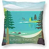 DayToy Stil Kalifornien Lake Tahoe Travel Poster 1 Pack