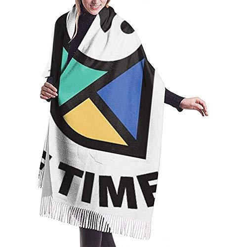 Laglacefond uil van Mir Lady winter vrouwen cashmere sjaal wraps sjaal