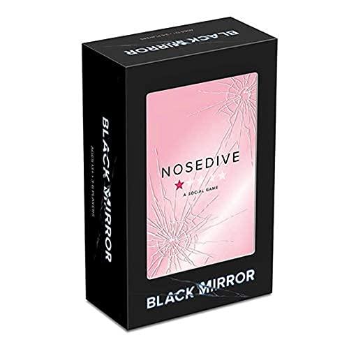 Asmodee- Black Mirror: Nosedive-Gioco da Tavolo Edizione in Italiano (8885 Italia), Colore