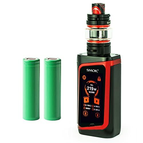 Smok Morph 219 Kit inkl. TF Tank (6 ml) 5000 mAh E-Zigarette E-Shisha Starterset (nikotinfrei) (schwarz)