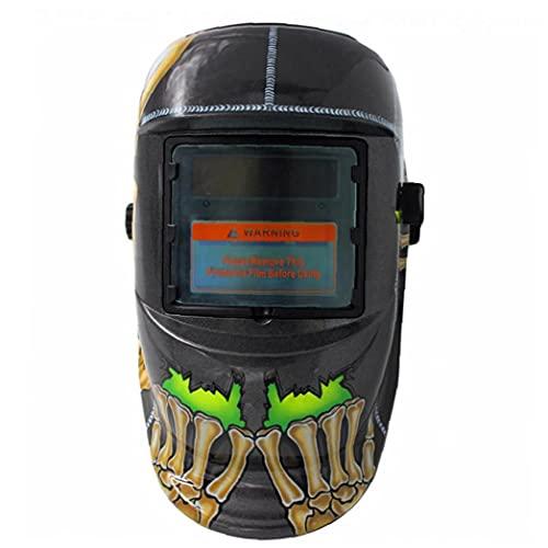 Naisicatar casco de soldadura de oscurecimiento automático accionado solar de la capilla Mig Tig soldador de arco Protección para los ojos de la cara de Seguridad Accesorios Gear