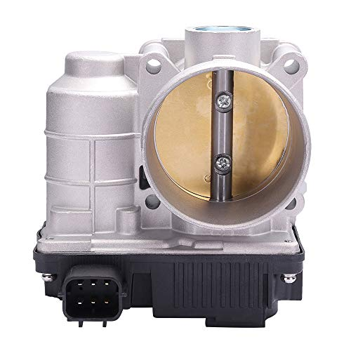 ECCPP Throttle Body Air Control Assembly Fit for 2.5L 2002-2006 Nissan Altima /2002-2006 Nissan Sentra /2005 2006 Nissan X-Trail 16119JF00B, 16119AE013(Only for 2.5L)