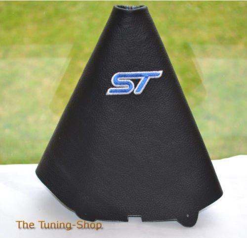 Für Ford Fiesta MK72008–2013Manuelle Schaltsack schwarz Leder blau ST Edition