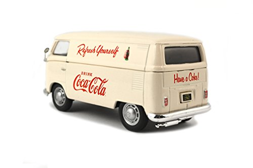 Motor City- Miniature Voiture de Collection, 430005, Beige/Rouge