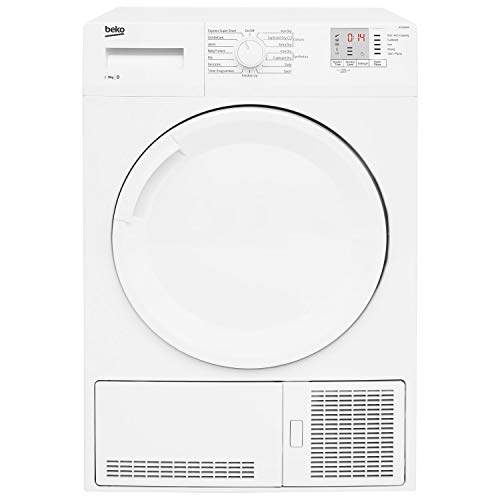 Beko DTGC9300W 9kg Freestanding Condenser Tumble Dryer - White