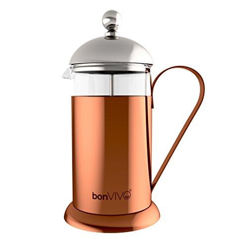 bonVIVO® GAZETARO II cafetera (French Press) de diseño y Prensa Francesa...