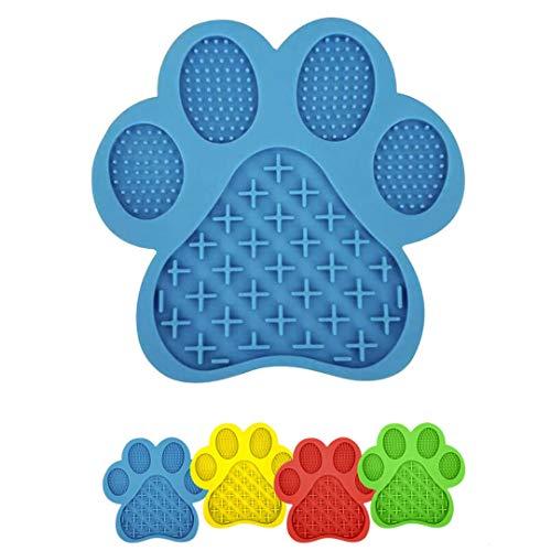 NWLS Leckmatte Hunde Leckmatte für Ihren Hund | Schleckmatte | zur Reduzierung von Angst, Stress und Langeweile | Anti-Schling-Oberflächenstruktur | BPA-frei | abwechslungsreicher Genuss |