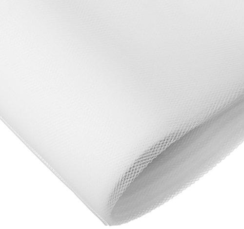 Gift International 54-Inch-by-120-Feet Tulle Bolt, White