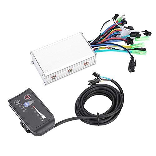 DEWIN Brushless Motor Controller - Motore Elettrico per Bicicletta Kit Controller Senza spazzole per Scooter Elettrico per Pannello di visualizzazione a LED da 250 W / 350 W Impermeabile (24V)