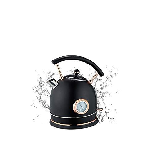 WJHH Hervidor eléctrico con termómetro, Apagado automático de Gran Capacidad, Tetera de...