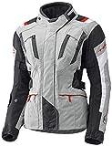 Held 4-Touring - Chaqueta de moto para mujer, color gris y negro, talla DS