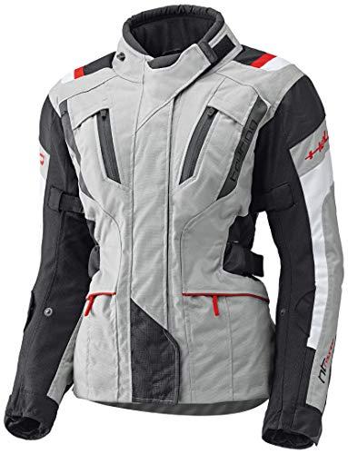 Held 4-Touring - Chaqueta de moto para mujer, color gris y negro, talla DXS