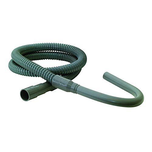 Eastman 60531 SD-Style Plastic Washing Machine Discharge Hose, 8 Ft, Gray