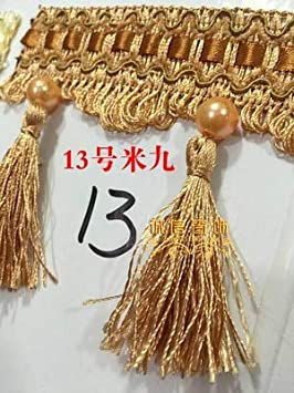 Borla de colores para decoraci/ón del hogar beige Fenghuangwu 4 paquetes
