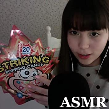 Eating Popping Candy and Crunchy Sounds