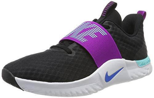 Nike Womens Renew in-Season Training 9 Sneaker Fabric Low Top, Black, Size 8.5