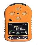GIAOGIAO Detector de Gas Alarma del Detector de Fugas de Gas Natural Gas portátil de Mano de ozono Monitor de Gas con Pantalla LCD