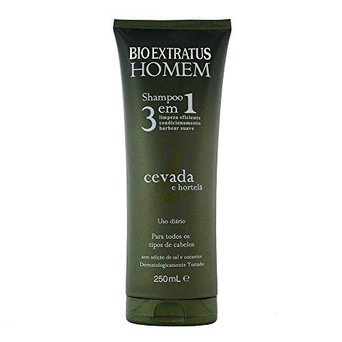 Bio Extratus Homem - Shampoo 3 e 1 (250 Ml)