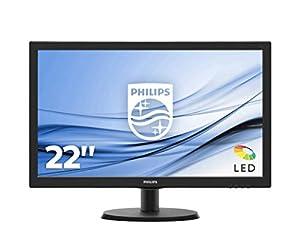 """Tipo schermo: LCD TFT Tipo con retroilluminazione: sistema W-LED Dimensioni pannello: 54.6 cm (21.5"""") Tempo di risposta (tipico): 5 ms Colori display: 16.7 milioni"""