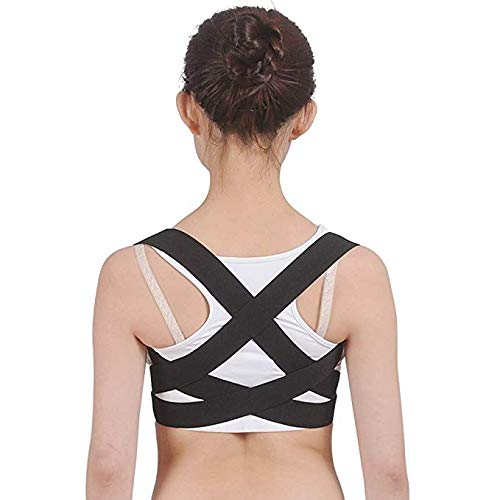 YSJ rugsteun riem, houding corrector voor volwassenen kinderen terug stijltang beugels Lumbar ondersteuning rechte schouder panty