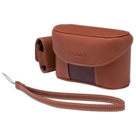 パナソニック デジタルカメラケース LUMIX TZ3用 本革ケース(ストラップ付) ブラウン DMW-CT3-T