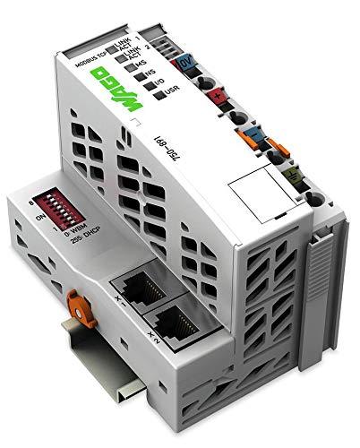 750-891 Wago Controller Modbus TCP; 4. Generation; 2 x ETHERNET