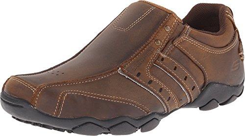 Skechers Men's Diameter shoe,11 XW US,Dark Brown