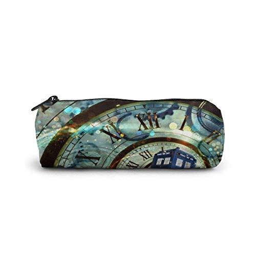 IOPLK Valigeria Cartelle, astucci e set per la scuola Astucci Pencil Case/Cosmetic Bag,Range Blaze Canvas Stationery Stylish Simple Pencil Bag