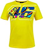 Valentino Rossi VRMTS305801006, T-Shirt Uomo, Yellow/Giallo, XX-Large 124 cm/49 in Chest