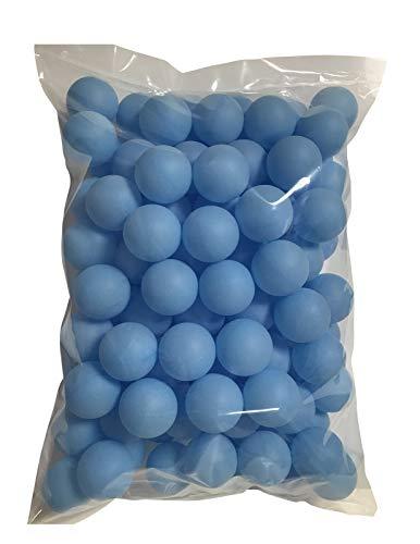 TAKASUE ピンポン玉 娯楽用 卓球ボール プラスチック ボール 無地 ライトブルー 100個