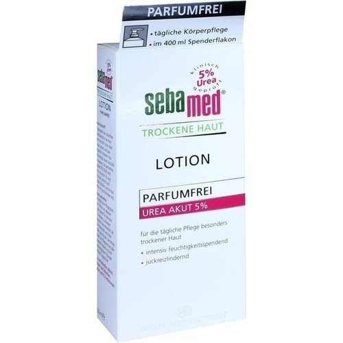 SEBAMED Trockene Haut parfümfrei Lotion Urea 5% 400 ml Lotion