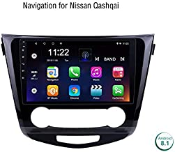 in Dash Car Radio 2Din Android 8.1 Multimedia Player 10.1 Inch for Nissan Qashqai 2016,GPS WiFi Bluetooth Quad Core Head Unithd LCD Touch Screen