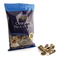 tasty, delicious treats 100% fish skins these natural low calorie treats help remove tartar from your dog's teeth but have a taste dogs adore