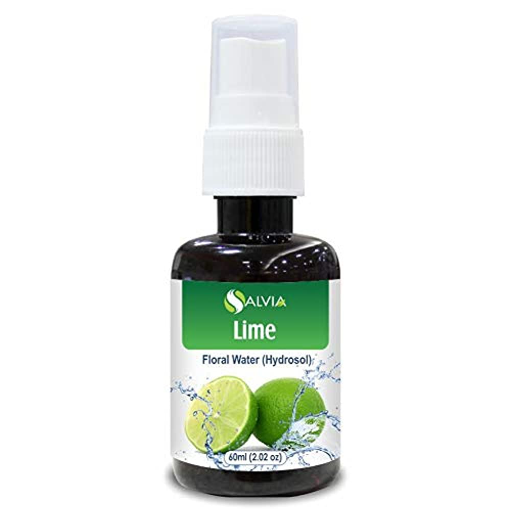 シミュレートする加速する対話Lime Floral Water 60ml (Hydrosol) 100% Pure And Natural