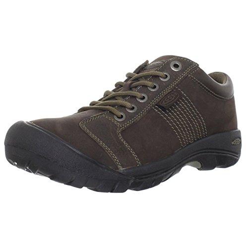 KEEN Herren Austin Lo Waterproof Nachhaltig Sneaker Braun 42 EU