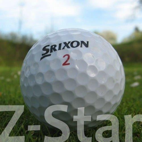 Easy Lakeballs 50 SRIXON Z-Star Pelotas DE Golf RECUPERADAS/Lake Balls - Calidad AAAA/AAA (Pearl/A Grade) - EN Bolsa DE Red