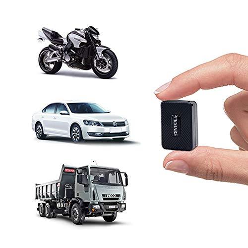 Hangang Mini Traceur GPS,Tracker GPS Anti-Theft Aimant Locator GPS Rechargeable Veille en Temps réel GPS/GPRS/GSM Tracker pour Véhicule/Enfants/Objets De Valeur, Etc