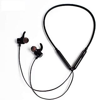 ワイヤレス イヤホン 防水 マグネット搭載 Bluetooth 4.2 高音質 マイク付き スポーツ IPX5防汗 Hi-fi 重低音 長時間連続再生 人間工学設計 Siri対応 片耳 両耳 ノイズキャセル ハンズフリー通話 ヘッドホン イヤーフック ios/Android対応 ブラック