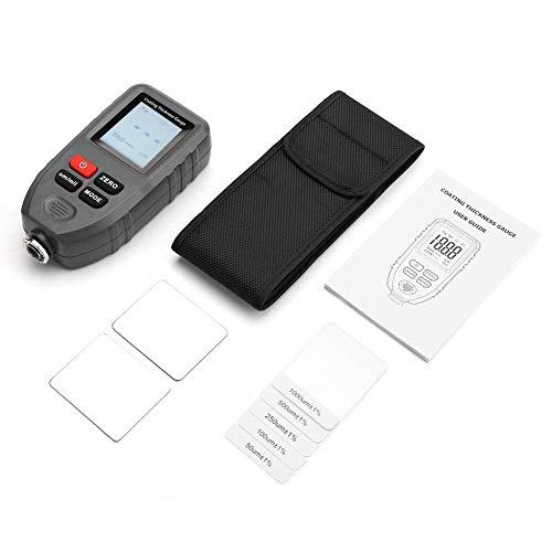 Nizza Shell Grey Auto Detecting Auto Dicke Messwerkzeug, schnelle breite Anwendung Beschichtung Dicke Messgerät, genau für Dickenmessung Beschichtungstest