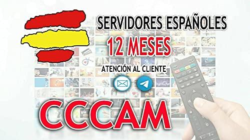 2 CLINES CCCAM ESPAÑA - Envio en 2 Horas Aprox - 12 Meses SIN Cortes ✅NO Chinas……
