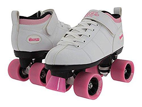 Chicago Bullet Ladies Speed Roller Skate –White