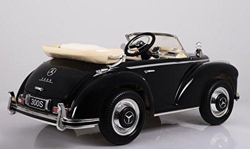 Oldtimer E-Auto für Kinder Mercedes Benz 300s Bild 5*