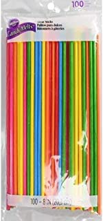 Multicolored Lollipop Treat Sticks 8 in. 100 count