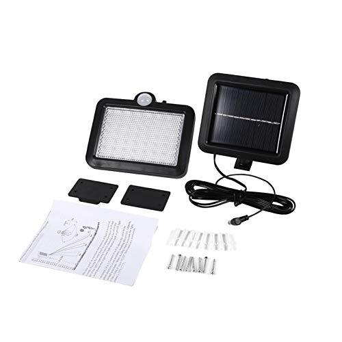 Iluminación y Ventiladores de Techo-Sensor Detector de Movimiento 56 LED Luz con energía Solar Lámpara de Seguridad para jardín al Aire Libre Montado en la Pared