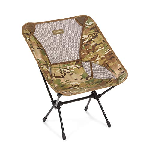 Helinox Chair One Original Lightweight, Compact, Collapsible Camping Chair, Multicam/Coyote