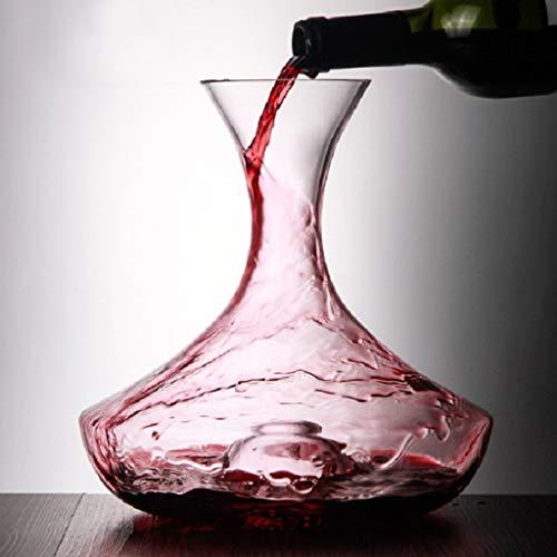 Decantador De Vino, Jarra De Cristal 100% Sin Plomo, Oxigenador Y Aireador Para Tinto, Jarra De Respiración De Vino