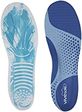 ViveSole Memory Foam Insoles - Orthotic Arch Support Shoe Inserts for Women, Men, Plantar Fasciitis, Flat Feet, Tennis, Running, Heels, High Arches, Walking, Comfort, Foot Pain, Work Boots - Unisex
