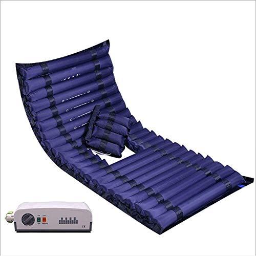 WKDZ Anti-Bedsore Air Súper silencioso Colchón Easy Comfort Drive Anti-Decubitus Masaje Pad Cushion Streak Single Cama Cuidado Colchón Inflable Cojín 1223 (Color : Color2, Size : 190x90cm)